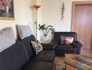 FeWo Loher - Wohnung A - Wohnbereich